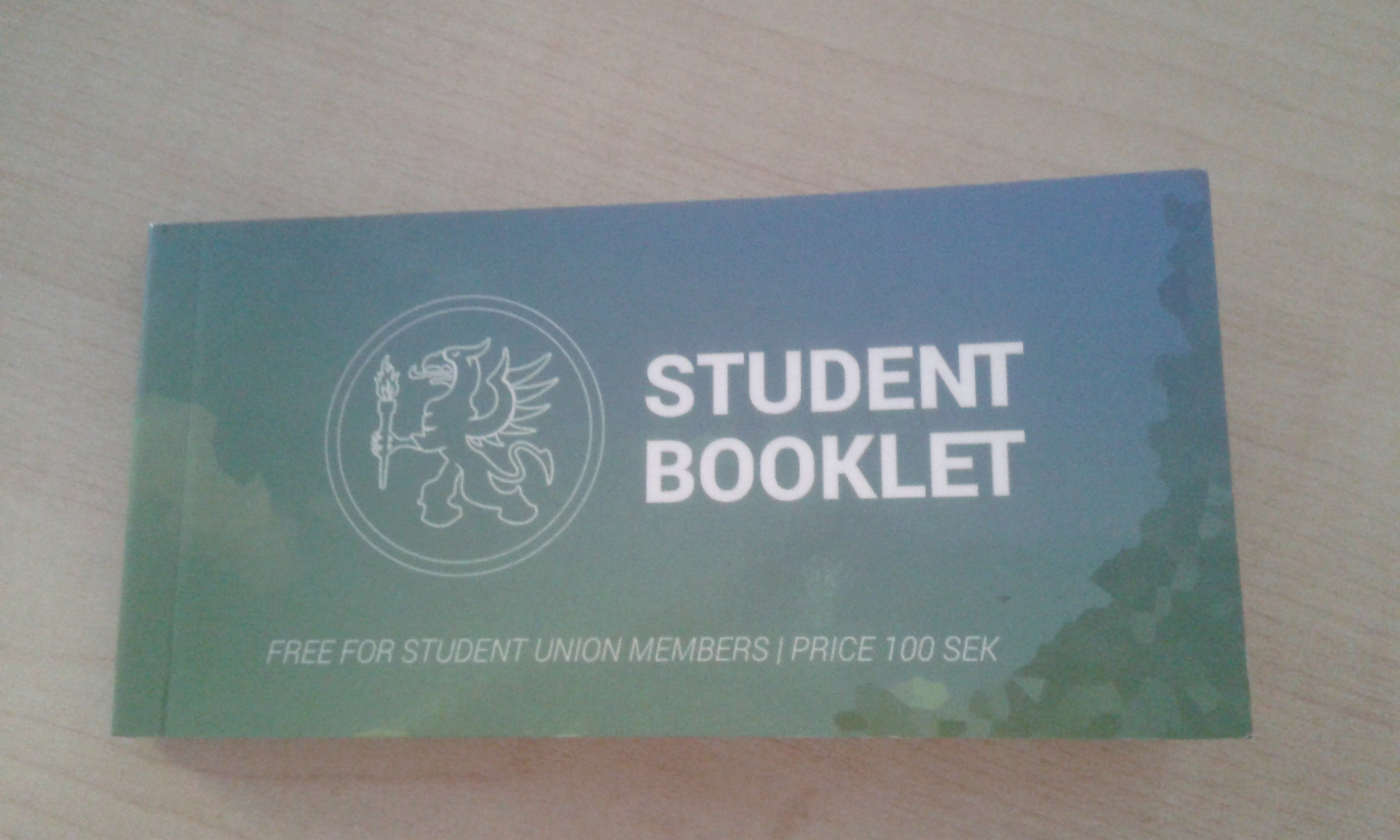 student booklet