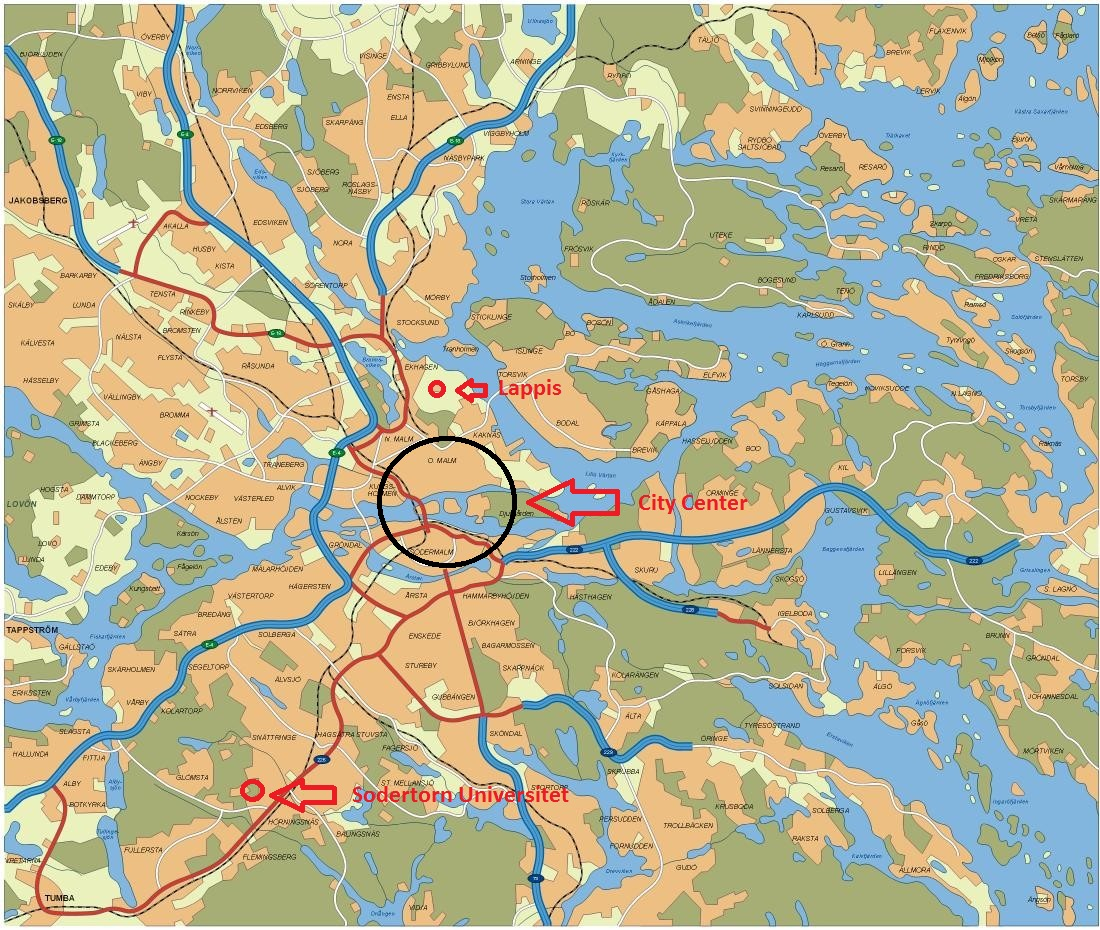 housing map lappis